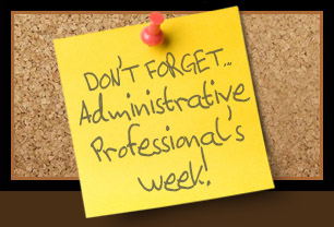 Admin Professional's Week